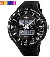 Мужские часы Skmei 1066 АТО Black-White