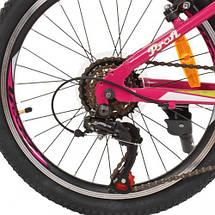 """Спортивний дитячий велосипед Profi 20"""" G20CARE A20.1 рожевий SHIMANO 18SP, фото 3"""