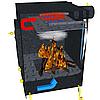 Печь Экожар Комфорт с Камерой Дожига Вторичных Газов (Сталь 4 мм) - Фото