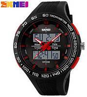Мужские часы Skmei 1066 АТО Black-Red