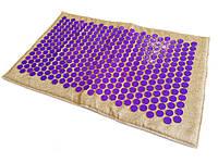 Коврик массажно-аккупунктурный Lounge medium 68х42 см фиолетовые фишки