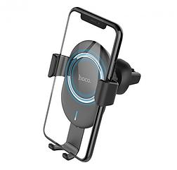 Бездротовий автотримач Hoco CW17 з бездротовою зарядкою Wireless Fast Charger