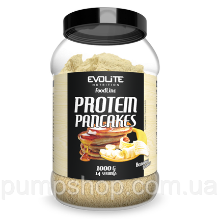 Протеїнові млинці (суміш) Evolite Nutrition Protein Pancakes 1000 г, фото 2
