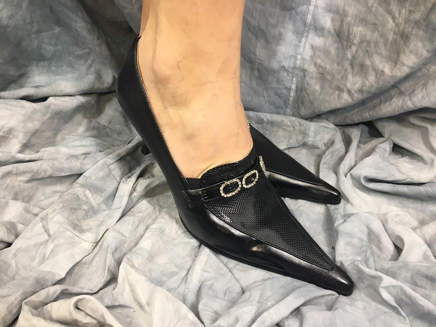 Жіночі туфлі Camidy 642-777 чорні 35-40