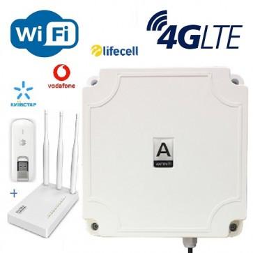 4G антенна+модем+роутер LTE Station Pro