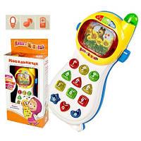 Детский телефон Мобильничек Маша и Медведь