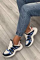 Жіночі стильні кросівки на високій підошві (115801б)
