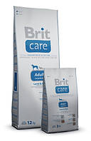 Корм для собак Brit Care Adult Large Breed Lamb & Rice 1 кг, брит для собак крупных пород с ягненком и рисом