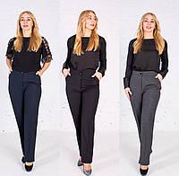 Жіночі брюки класичні пояс на резинці, фото 1