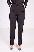 Женские брюки черного цвета классические пояс на резинке, фото 1