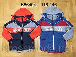 Куртки на флисе для мальчиков Grace 116-146 p.p.