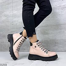 Ботинки кожа на шнурках, фото 3