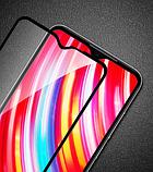 Захисне скло PZOZ повний клей 9D для Xiaomi Redmi Note 8 Pro, фото 6