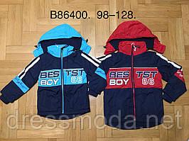 Куртки на флисе для мальчиков Grace 98-128 p.p.