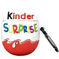 Чехол для Apple AirPods Kinder Surprise 3D, силиконовый, фото 1