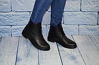 Качественные женские  кожаные ботинки, размеры 36-41