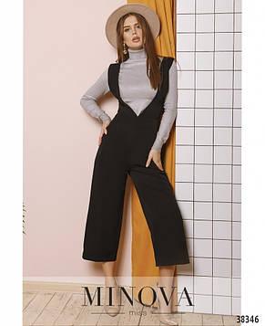 Модный женский комбинезон с брюками-кюлотами (3 цвета), фото 2