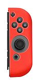 Силіконові чохли синій і червоний для Joy-Con Nintendo Switch + накладки на стіки / Скла / Плівки /, фото 2