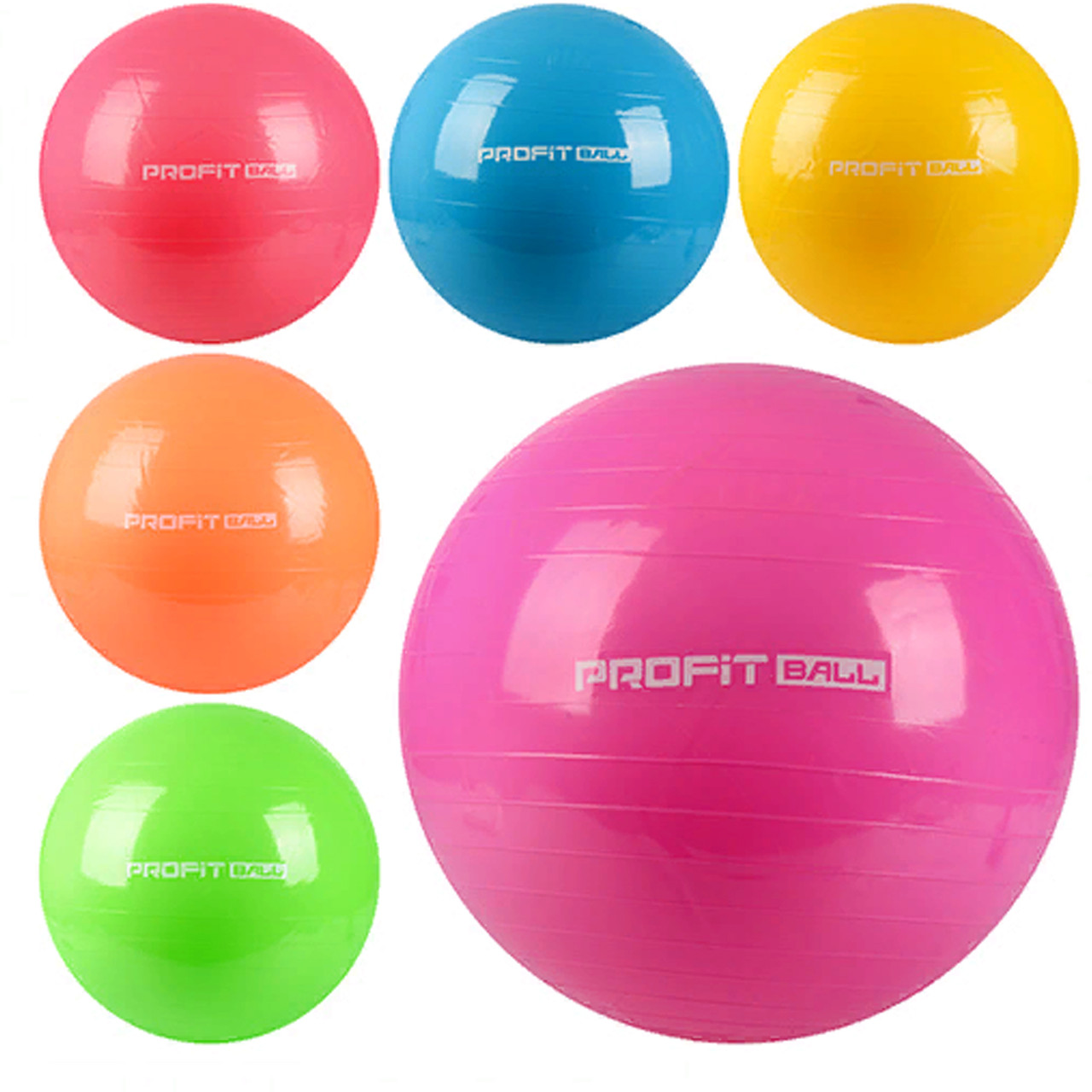 Мяч для фитнеса 65 см в пакете