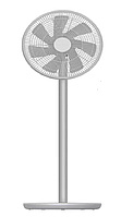Вентилятор Smartmi Standing Fan 2S (ZLBPLDS03ZM)