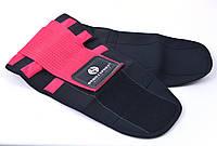 Пояс-корсет для поддержки спины ONHILLSPORT (черно-малиновый), фото 1