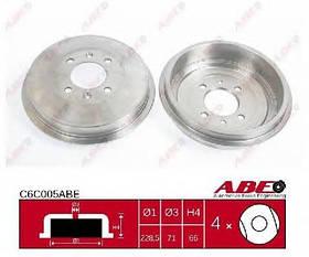 Тормозной барабан Citroen Xsara N1 1997-2005 (44044)