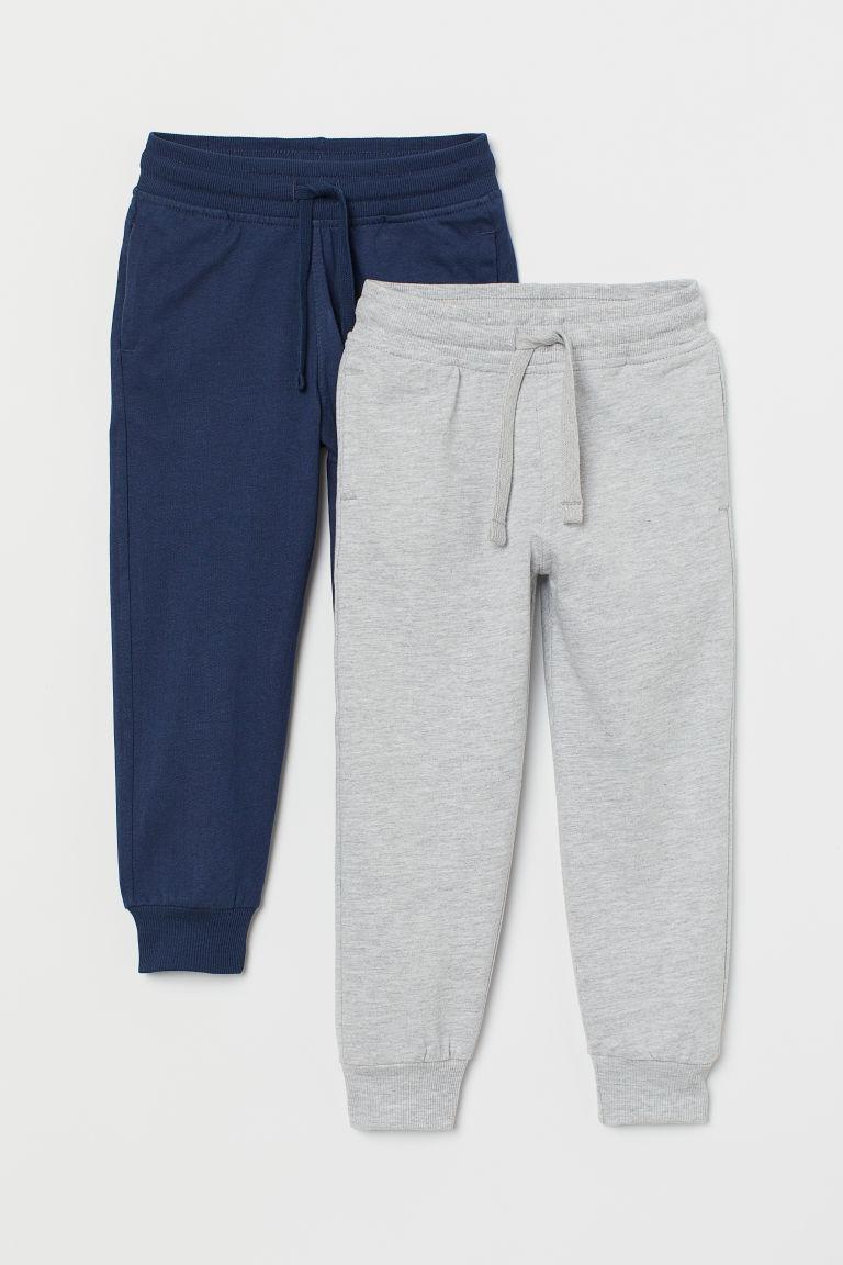 Спортивные штаны серые H&M (Швеция) р.128см