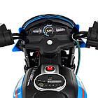 Детский мотоцикл Bambi на аккумуляторе JT5158-4 синий, фото 4