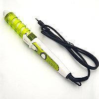 Спиральная плойка  для завивки волос perfect curl RZ118 / стайлер для волос Зеленая