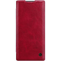Кожаный чехол книжка G-Case Vintage Business Series для Samsung Galaxy Note 10
