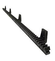 Полимерная зубчатая рейка Roger RN (со стальным усилителем) для ворот до 400 кг