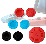 Силіконові чохли синій і червоний для Joy-Con Nintendo Switch + накладки на стіки / Скла / Плівки /, фото 10