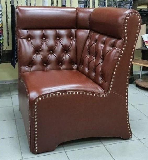 Угловой элемент мягкой мебели Лассо.