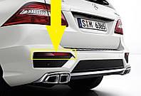 Левый отражатель в задний бампер Mercedes ML W166 W 166 новый оригинал