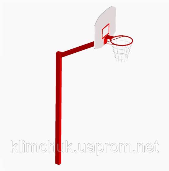 Стійка баскетбольна 3.6м. для спортивних ігрових майданчиків KidSport