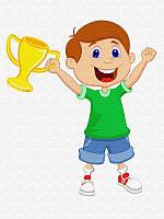 Картина по номерам для детей Победитель, 30x40 см, подарочная упаковка, Brushme (Брашми) (MEX6349)