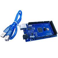 Плата Arduino Mega 2560 ATmega2560-16AU + USB кабель