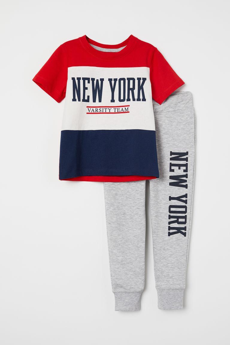 Детский костюм New York H&M р.98/104см