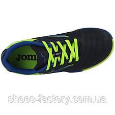 Футзальная обувь (Сороконожки) Joma TOLEDO JR 2003 Navy Turf, Оригинал, фото 3