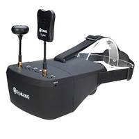 "FPV видео шлем очки DVR Diversity 5.8G 40CH RaceBand 5"" Eachine EV800D, фото 1"