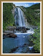 Фото обои, Хрустальный поток, 8 листов, размер194 x 134cm