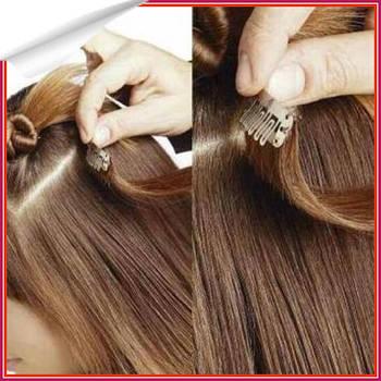 Как крепить волосы на заколках? Пошаговая инструкция.