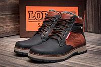 Мужские зимние кожаные ботинки Wrangler Arizona brown коричневые, фото 1