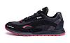 Мужские кожаные кроссовки Puma red Star черные