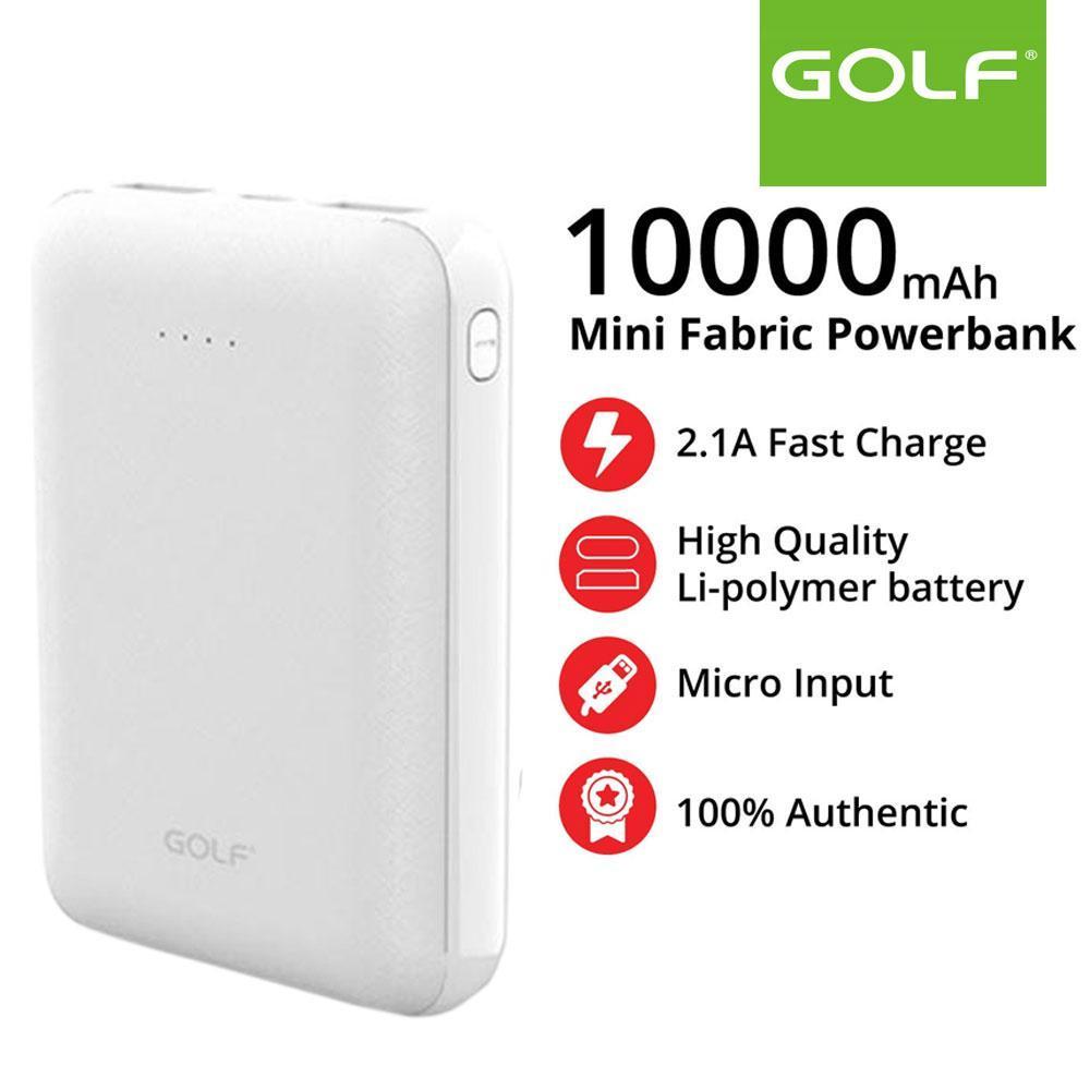 Повер Банк 10000 мАч Power Bank GOLF 10.000 mAh