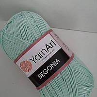 YarnArt- Begonia (бегония)- 4939 мята (новый цвет)