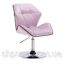 Крісло косметичне HR212 верес велюр , диск .