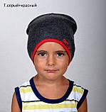 Шапка детская демисезонная для мальчиков и девочек разных цветов, фото 7