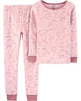Детская пижама для девочки Carters Америка Размер 116