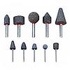 Шлифовальные насадки 10 шт. AmPro А1101